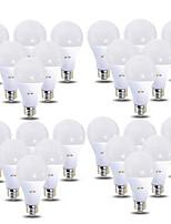 Недорогие -EXUP® 24pcs 12 W 1180 lm B22 / E26 / E27 Круглые LED лампы 28 Светодиодные бусины SMD 2835 220-240 V / 110-130 V