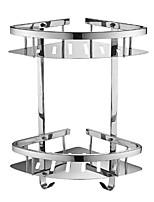 Недорогие -Полка для ванной Новый дизайн / Cool Современный Нержавеющая сталь / железо 1шт Двуспальный комплект (Ш 200 x Д 200 см) На стену