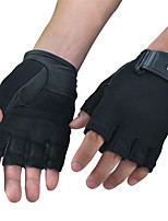 Недорогие -BOODUN Тренировочные перчатки Овечья кожа Прочный Дышащий Контроль пота Снятие стресса Аэробика и фитнес Тренировка в тренажерном зале Для Мужчины Женский палец