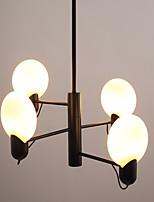 Недорогие -JLYLITE 4-Light Кристаллы Люстры и лампы Рассеянное освещение Электропокрытие Металл Мини 110-120Вольт / 220-240Вольт