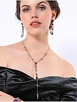 Недорогие -Жен. Классический Свитер ожерелье Однотонный