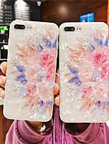 Недорогие -Кейс для Назначение Apple iPhone XR / iPhone XS Max Ультратонкий / С узором Кейс на заднюю панель Цветы Мягкий ТПУ для iPhone XS / iPhone XR / iPhone XS Max