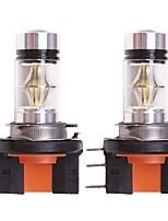 Недорогие -OTOLAMPARA 2pcs H15 Автомобиль Лампы 100 W SMD 3030 1850 lm 20 Светодиодная лампа Налобный фонарь Назначение Volkswagen Touran / Golf / Гольф 6 2009 / 2010 / 2011