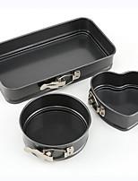 Недорогие -3шт Специальный материал Творчество Торты Формы для пирожных Инструменты для выпечки