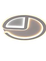 Недорогие -Круглый Потолочные светильники Рассеянное освещение Окрашенные отделки Металл Акрил LED 110-120Вольт / 220-240Вольт