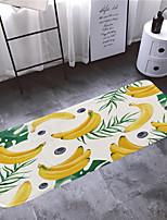 Недорогие -1шт Деревенский Коврики для ванны Коралловый Цветочный принт 5mm Ванная комната Новый дизайн / Легко очистить