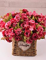 Недорогие -Искусственные Цветы 5 Филиал Классический европейский Пастораль Стиль Камелия Букеты на стол