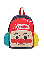 Недорогие -Девочки Мешки холст рюкзак Молнии Красный