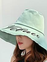 Недорогие -Жен. Симпатичные Стиль Широкополая шляпа / Шляпа от солнца Цветочный принт