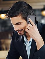 Недорогие -oatsbasf Кейс для Назначение Huawei P20 Защита от удара / Матовое / Своими руками Бампер Однотонный Твердый Алюминий для Huawei P20
