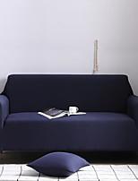 Недорогие -Накидка на диван Однотонный / Классика / Современный стиль Активный краситель Полиэстер Чехол с функцией перевода в режим сна