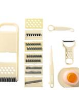 Недорогие -Нержавеющая сталь ABS Инструменты Овощечистка & Терка Инструменты Многофункциональный Кухонная утварь Инструменты Для овощного Необычные гаджеты для кухни 1 комплект