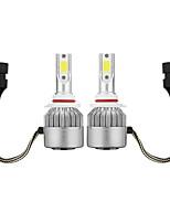 Недорогие -2pcs H9 / H7 / H3 Автомобиль Лампы 36 W COB 3800 lm 2 Светодиодная лампа Противотуманные фары / Налобный фонарь Назначение Универсальный / Volkswagen / Toyota Все года