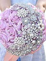 Недорогие -Свадебные цветы Букеты Свадебные прием Другие материалы 21-30 cm