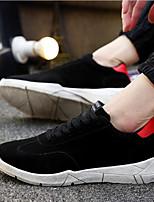 Недорогие -Муж. Комфортная обувь Полиуретан Весна лето Кеды Для прогулок Ботинки Черный / Красный / Синий