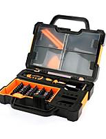 Недорогие -JAKEMY 46 в 1 Портативные Инструменты Ящики для инструментов Наборы инструментов Домашний ремонт Ремонт Apple Samsung для ремонта компьютеров