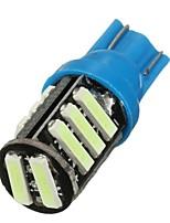 Недорогие -1pcs T10 Автомобиль Лампы 6 W SMD 7020 50 lm 11 Светодиодная лампа Подсветка для номерного знака / Внутреннее освещение / Боковые габаритные огни Назначение Универсальный / Volkswagen / Toyota