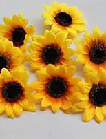 Недорогие -Искусственные Цветы 5 Филиал Классический европейский Простой стиль Подсолнухи Букеты на стол