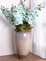Недорогие -Искусственные Цветы 3 Филиал Классический европейский Простой стиль Дельфиниумы Вечные цветы Букеты на стол