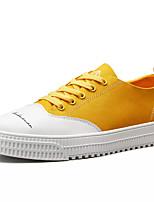 Недорогие -Муж. Комфортная обувь Полиуретан Весна Кеды Золотой / Черный / Синий