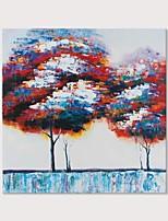 Недорогие -Hang-роспись маслом Ручная роспись - Пейзаж Modern Включите внутренний каркас