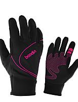 Недорогие -BOODUN Тренировочные перчатки Lycra® Полиэстер Прочный Дышащий Контроль пота Снятие стресса Аэробика и фитнес Тренировка в тренажерном зале Для Мужчины Женский палец