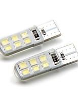 Недорогие -2pcs T10 Автомобиль Лампы 2 W SMD 2835 120 lm 12 Светодиодная лампа Боковые габаритные огни Назначение Универсальный Дженерал Моторс Все года