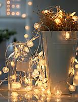Недорогие -3 м 20 светодиодов светодиодные фонари в форме сердца мигающие огни небольшие огни комната декоративные светильники креативная спальня общежитие романтическая композиция