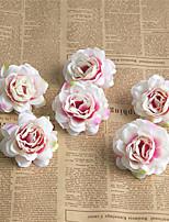 Недорогие -Искусственные Цветы 6 Филиал Классический европейский Свадебные цветы Розы Вечные цветы Букеты на стол
