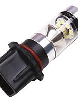 Недорогие -OTOLAMPARA 1pcs P13W Автомобиль Лампы 100 W SMD 2323 2200 lm 20 Светодиодная лампа Противотуманные фары Назначение