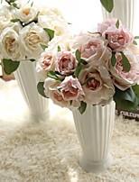 Недорогие -Искусственные Цветы 1 Филиал Классический европейский Свадебные цветы Розы Вечные цветы Букеты на стол
