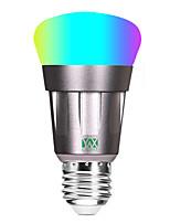 Недорогие -ywxlight®1pc alexa голос светодиодная лампа свет мобильного телефона пульт дистанционного управления энергосберегающие затемнения RGB лампы переменного тока 85-265 В 11 Вт 800-900lm