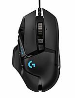 Недорогие -LITBest G502HERO Проводной USB Gaming Mouse RGB свет 16000 dpi 5 Регулируемые уровни DPI 11 pcs Ключи