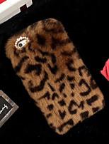 Недорогие -Кейс для Назначение Apple iPhone XS Max / iPhone 6 С узором Кейс на заднюю панель Леопардовый принт Мягкий текстильный для iPhone XS / iPhone XR / iPhone XS Max