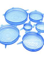 Недорогие -организация кухни для хранения продуктов питания для хранения силикона 6шт