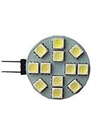 Недорогие -1шт 3 W 140 lm G4 Двухштырьковые LED лампы 12 Светодиодные бусины SMD 5050