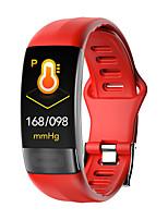Недорогие -p11 унисекс умный браслет smartwatch android ios bluetooth водонепроницаемый сенсорный экран монитор сердечного ритма измерение артериального давления спорт таймер ecgppg шагомер напоминание