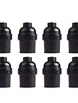 Недорогие -OYLYW 8шт E26 / E27 85-265 V Своими руками / Аксессуары для ламп пластик Разъем для лампочки
