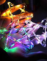 Недорогие -5 метров Гирлянды 50 светодиоды Тёплый белый / RGB / Белый Водонепроницаемый / Творчество / Для вечеринок Работает от USB 9pcs