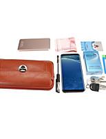 Недорогие -5/6 дюймов чехол для универсальной карты держателя талии сумка / талия сплошной цвет мягкая искусственная кожа