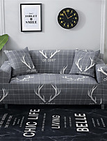 cheap -Antler Print Dustproof All-powerful Slipcovers Stretch Sofa Cover Super Soft Fabric Couch Cover with One Free Pillow Case