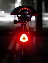 Недорогие -Светодиодная лампа Велосипедные фары Задняя подсветка на велосипед LED Велоспорт Интеллектуальная индукция Автоматическая тормозная индукция Литий-полимерная 20 lm Перезаряжаемая батарея Белый