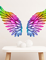 cheap -Colorful Wings Decorative Wall Stickers - Plane Wall Stickers Landscape / Shapes Living Room / Indoor