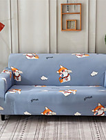 cheap -Cartoon Print Dustproof All-powerful Slipcovers Stretch Sofa Cover Super Soft Fabric Couch Cover with One Free Pillow Case