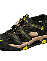 cheap -Men's Summer / Fall Casual Daily Sandals Water Shoes / Upstream Shoes Tissage Volant Breathable Waterproof Non-slipping Black / Red / Black / Black / Green