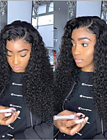 cheap -Synthetic Wig Afro Curly Asymmetrical Wig Very Long Black Synthetic Hair 26 inch Women's Sexy Lady curling Fluffy Black