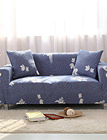 cheap -Flower Print Dustproof All-powerful Slipcovers Stretch Sofa Cover Super Soft Fabric Couch Cover with One Free Pillow Case