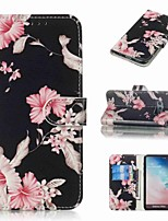 cheap -Case For Samsung Galaxy S9 / S9 Plus / S8 Plus Wallet / Card Holder / Flip Full Body Cases Flower Hard PU Leather