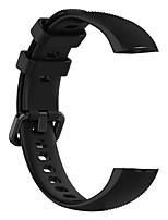 Недорогие -Ремешок для часов для Huawei Honor Band 4 Huawei Спортивный ремешок силиконовый Повязка на запястье