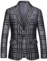 cheap -Tuxedos Standard Fit Notch Single Breasted One-button Polyester